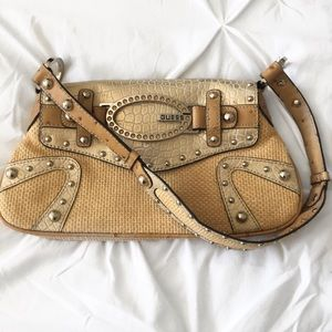 GUESS | Straw mini purse
